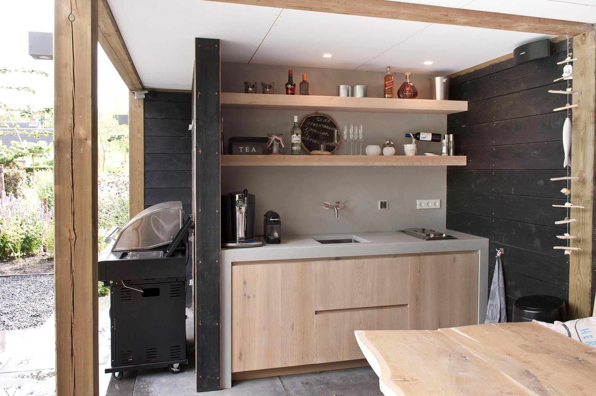 Keuken Aan Tuin : Keuken in de tuin
