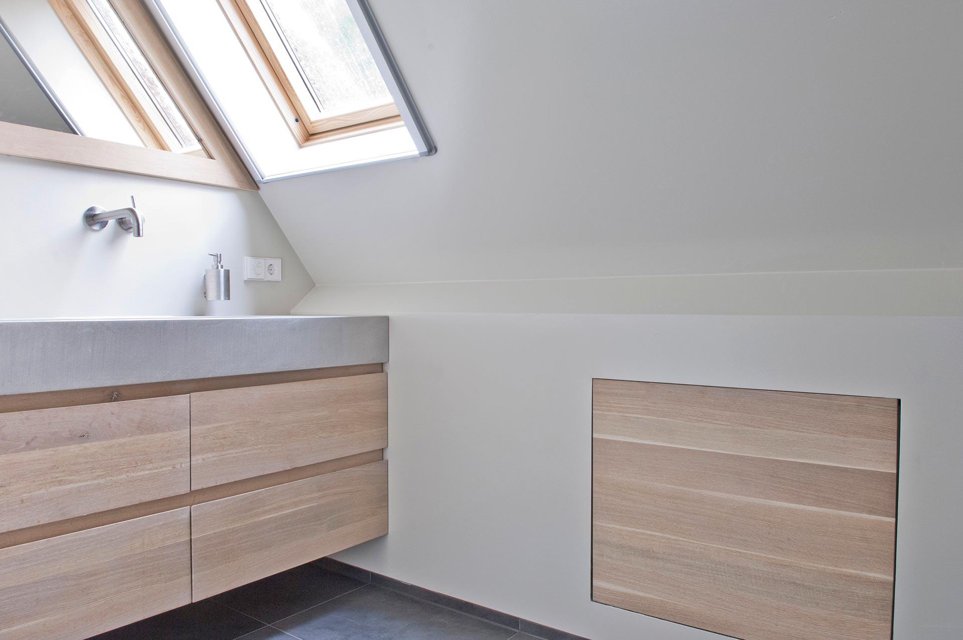 Houten badkamer meubels