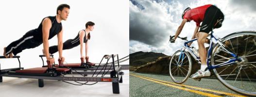 Exercícios de Pilates e a performance dos atletas