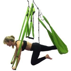 Você já ouviu falar em aulas com tecido acrobático?