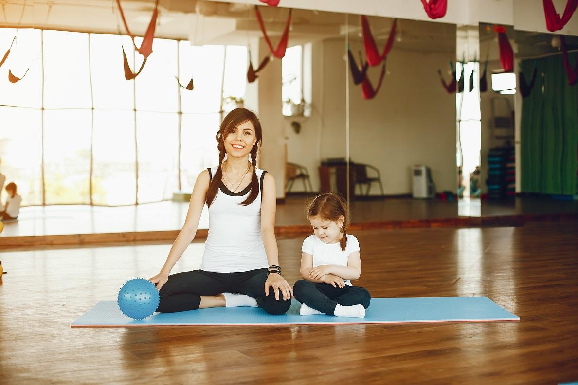 O benefício do Pilates para crianças.