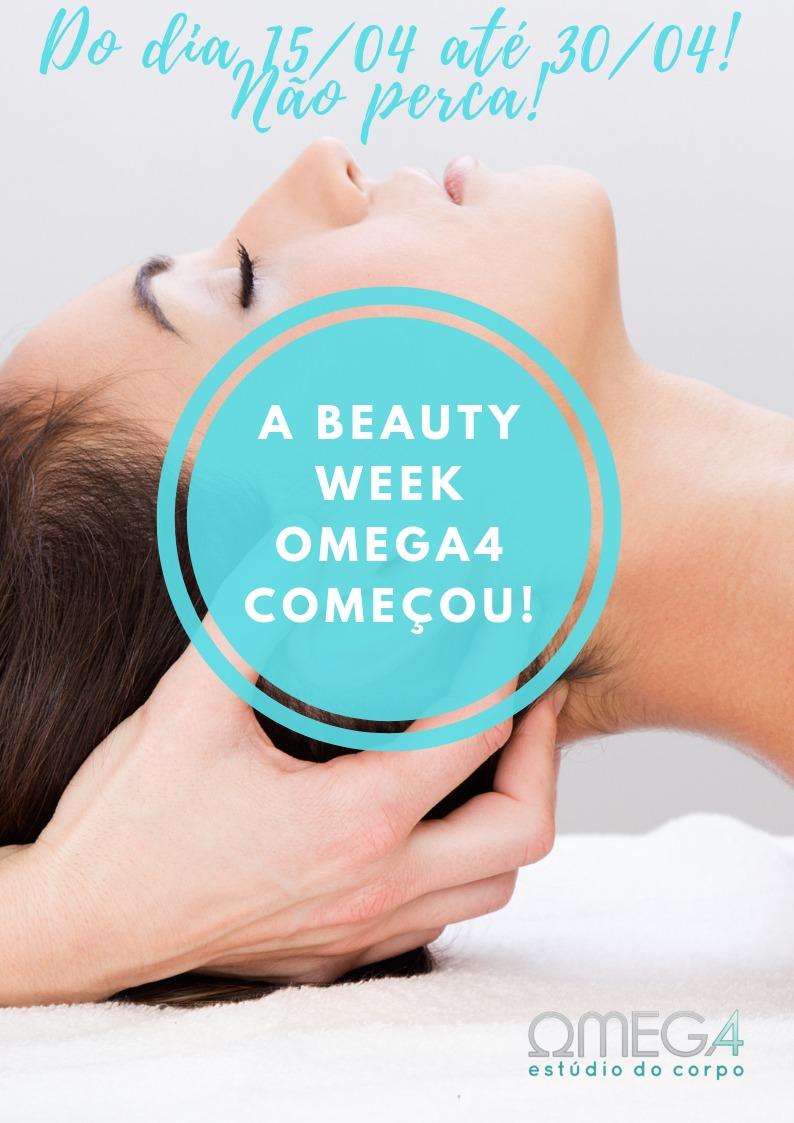 Começou a Beauty Week Omega4
