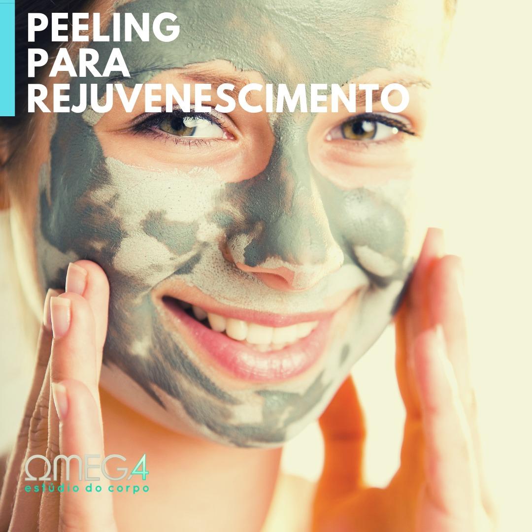 Tipos de peeling para rejuvenescimento
