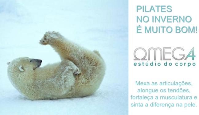 Pilates no Inverno: Sai desse corpo, preguiça!