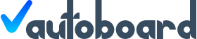 Autoboards Logo in Dark Gray