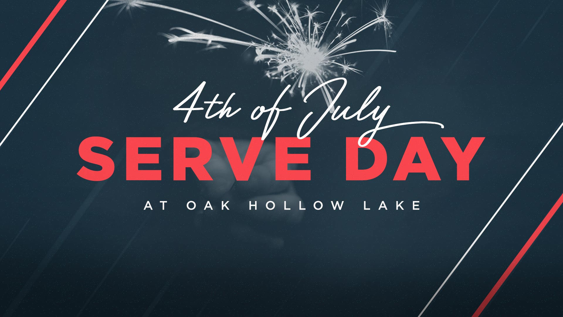 4th of July Serve Day