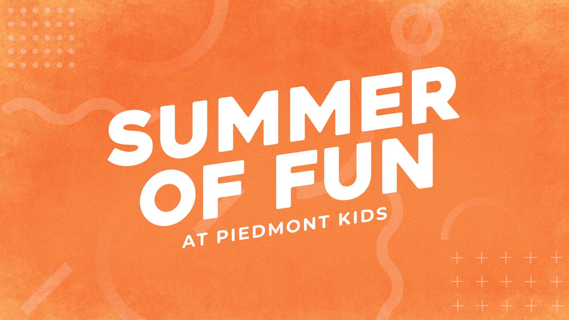 Kid's Summer of Fun