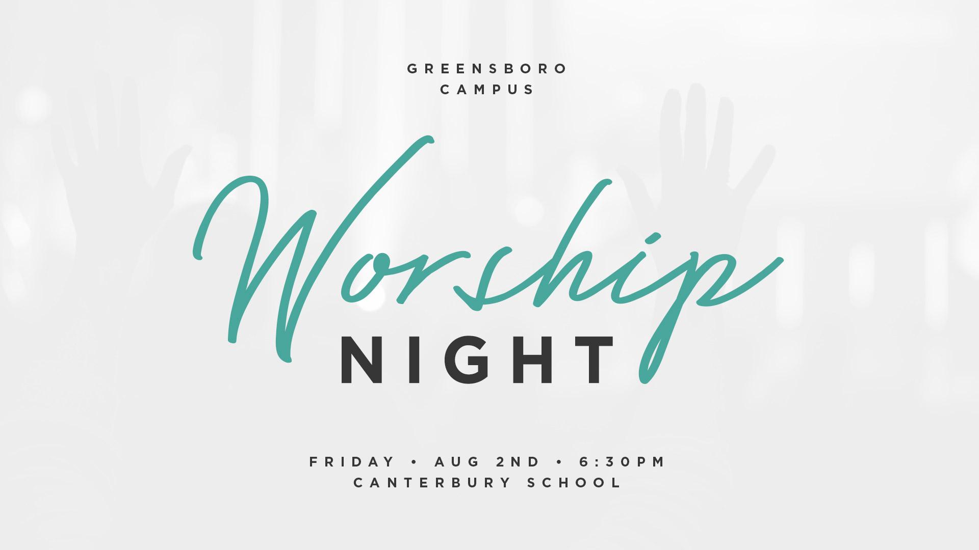 GSO Worship Night