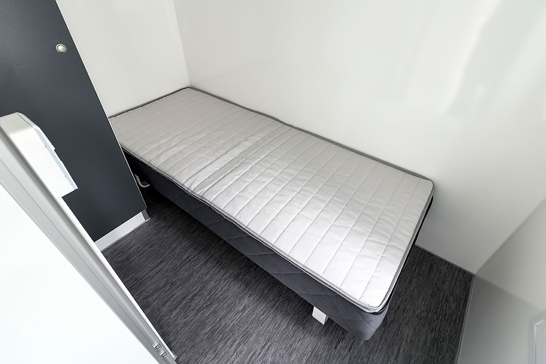 Scanvogn beboelsesvogn 2 enkelt værelser