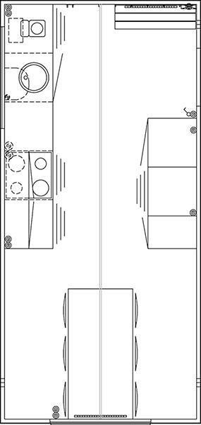 Scanvogn køkkenvogn 520