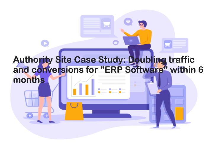 white hat backlink service case study ERP