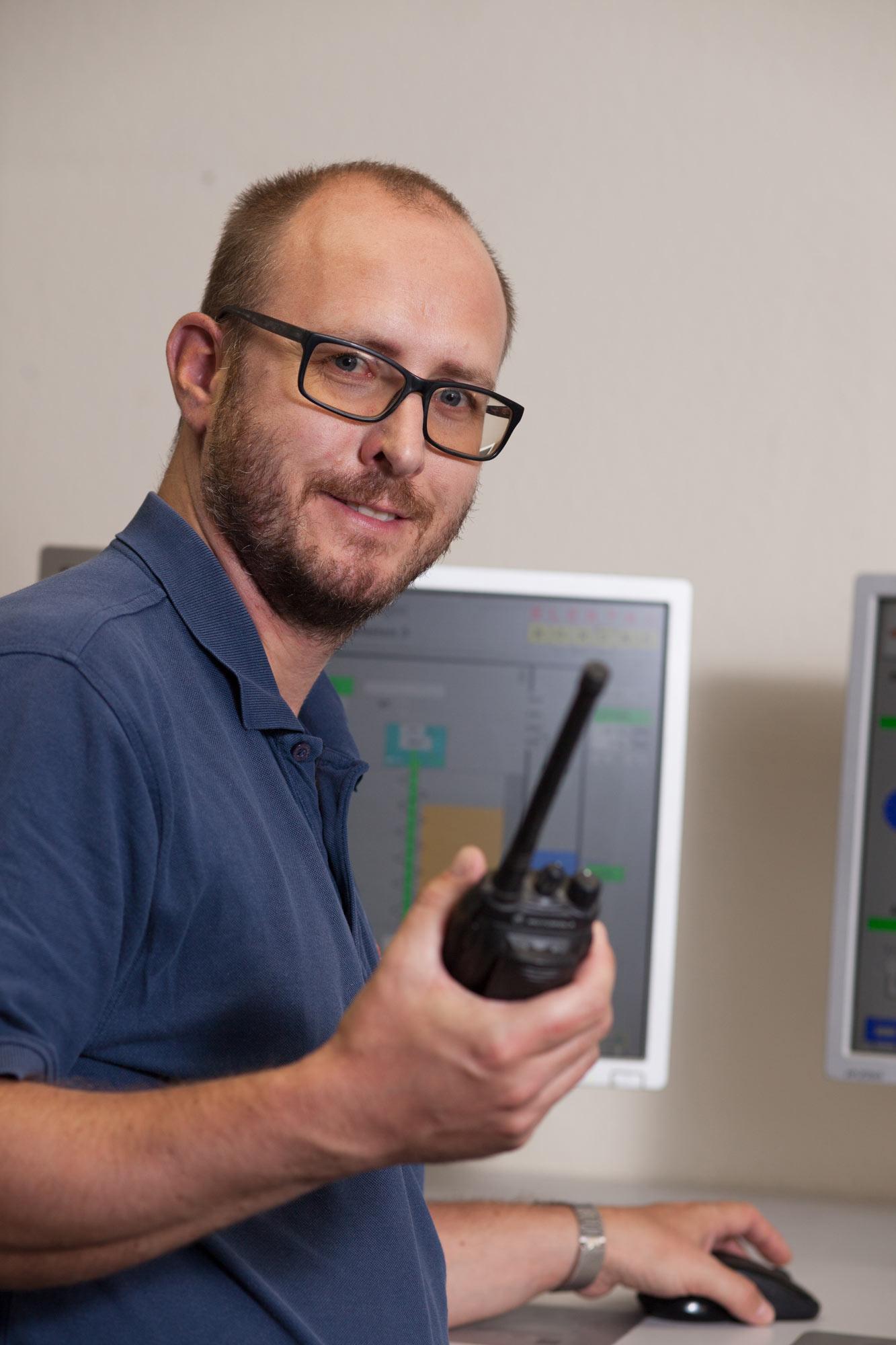Christoph Steindl, Schriesheim production manager