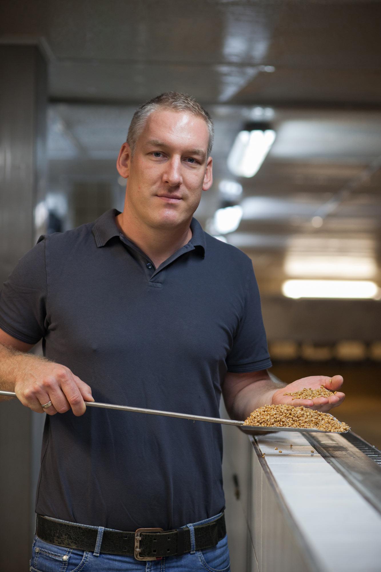 André Schneider,Edingen production manager