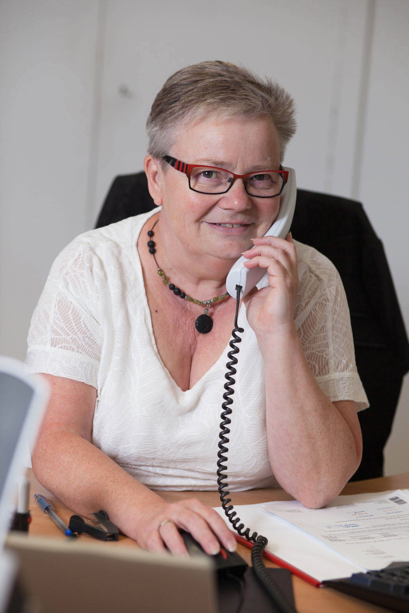 Ulrike Eisinger, Business Administrator (BA), scheduling, finance, accounting