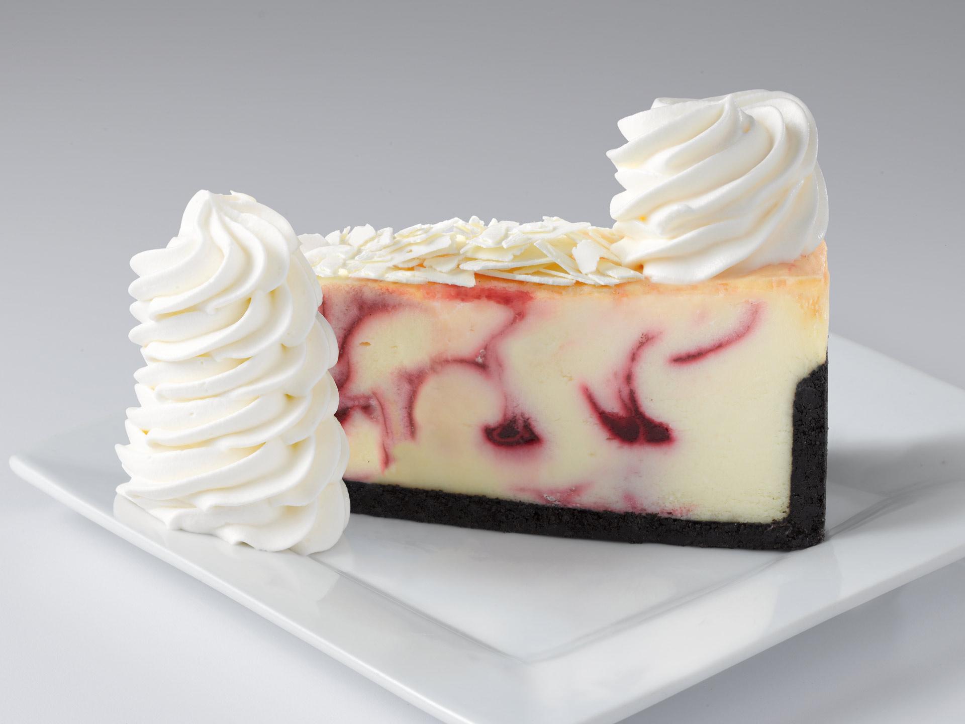 Cheesecake Factory © White Chocolate Raspberry Truffle
