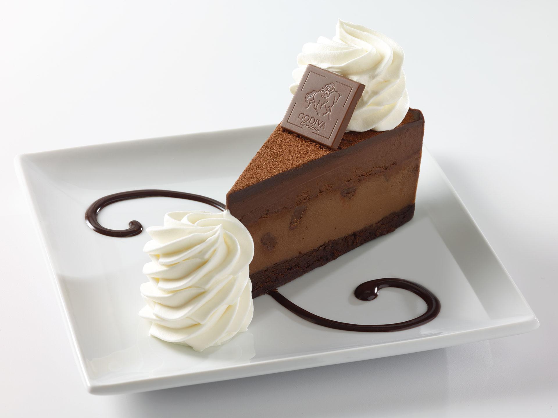 Cheesecake Factory © GODIVA® Chocolate Cheesecake