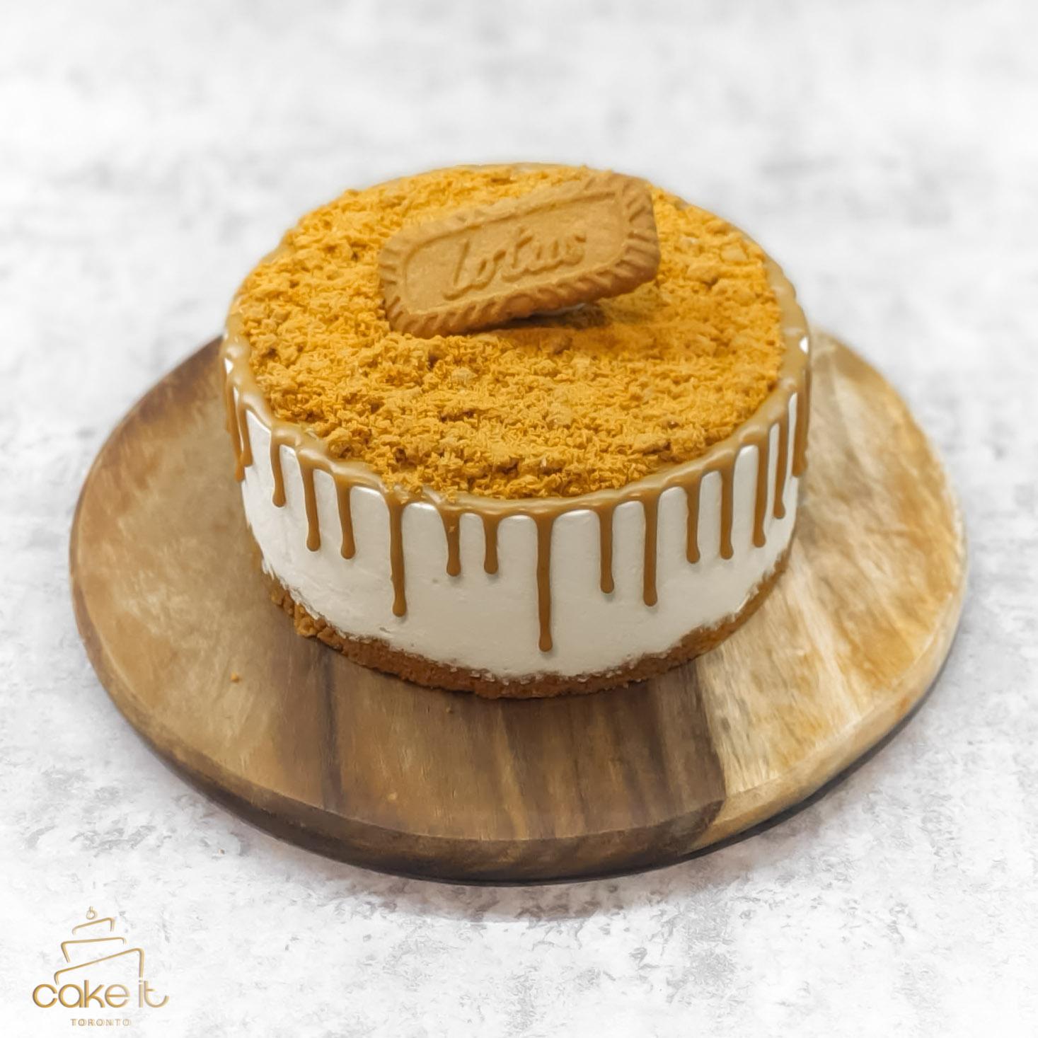 Lotus Biscoff & White Chocolate Mousse