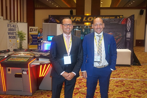 ELAUT exhibited its products at Caribbean Gaming Show