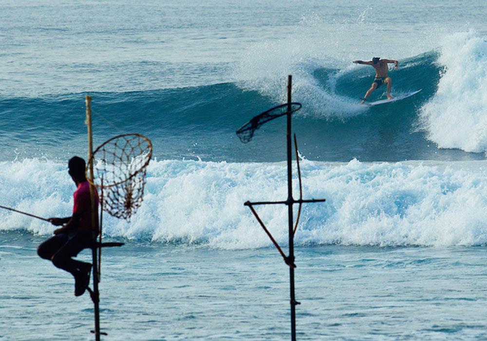 Surfing Sri Lanka