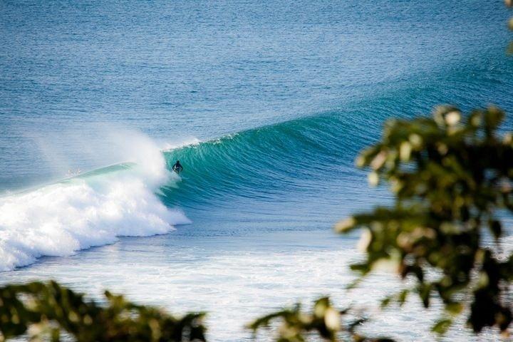 Surfing Padang-Padang on the Bukit