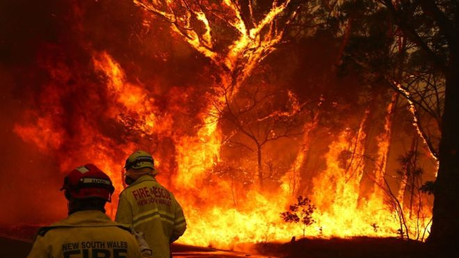 Australia: A Country Divided By Fire