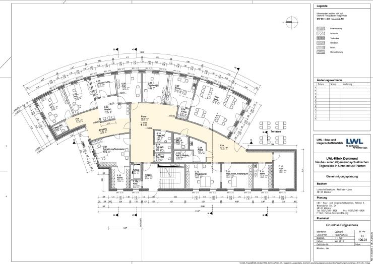 ARCHPLAN mit Planung von der Klinik in Passivhausbauweise beauftragt