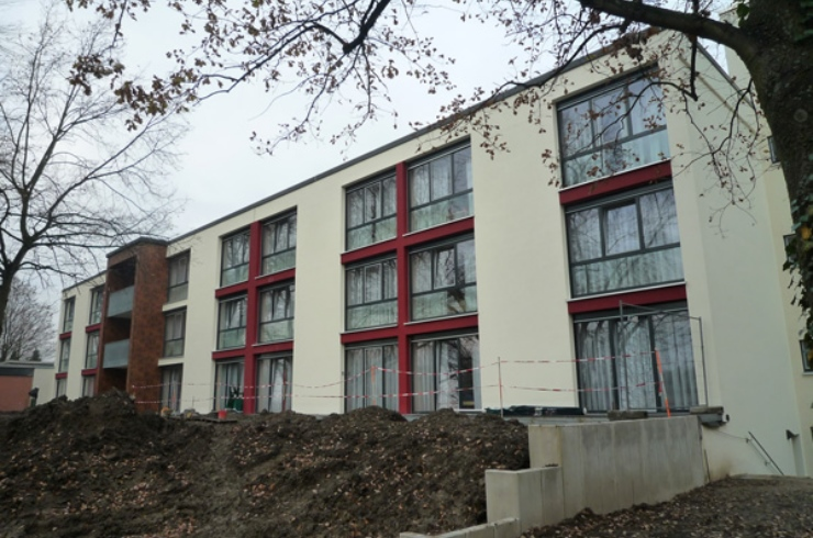 Fertigstellung: Senioren- und Pflegeheims Schmidtmannstraße (Haus C)