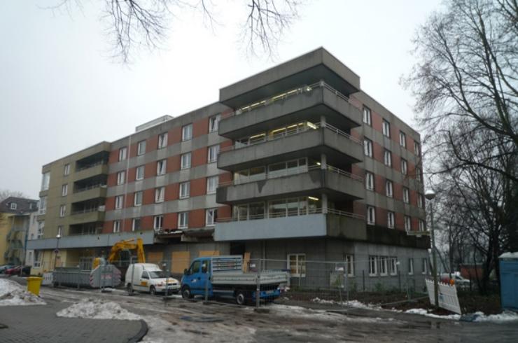 Baubeginn am Senioren- und Pflegeheim Gelsenkirchen (Haus A)