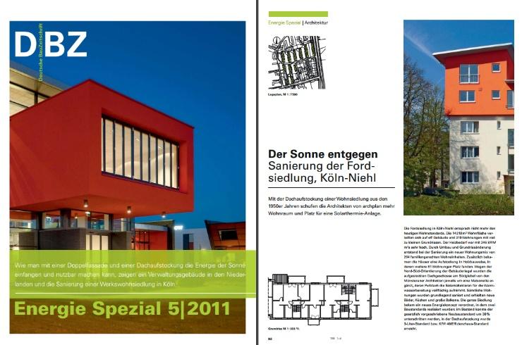 Fordsiedlung mit Veröffentlichung in der Deutschen BauZeitschrift 5│2011