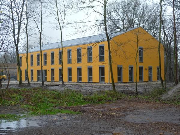 Fertigstellung des Gästehauses der Ökologiestation des UWZ Westfalen