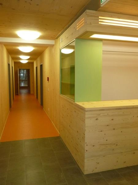 Innenansicht des neuen Gästehauses (UWZ)