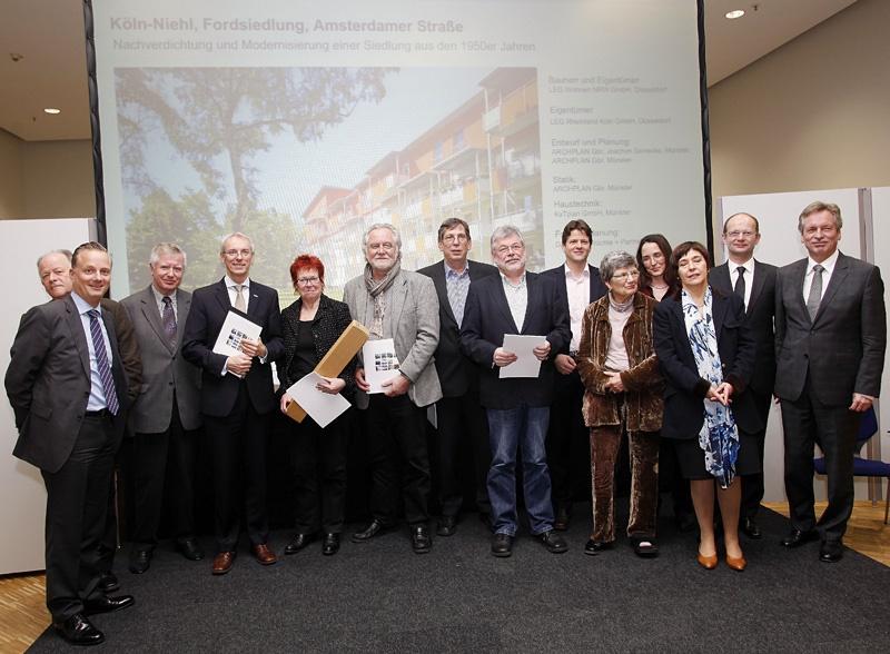 Fordsiedlung beim Deutschen Bauherrenpreis 2011 ausgezeichnet