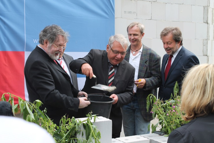 Grundsteinlegung der LWL-Tagesklinik in Bottrop