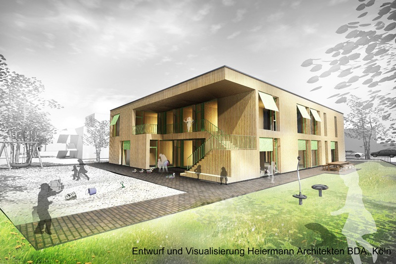 Richtfest zweier inklusiver Kindertagesstätten in Solingen und Heiligenhaus