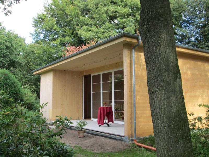 Heckentheater Kattenvenne: Einweihung des neuen Bühnenhauses
