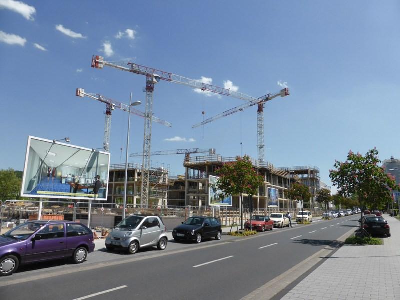 Bauarbeiten am Rhein-Palais-Bonner-Bogen schreiten voran