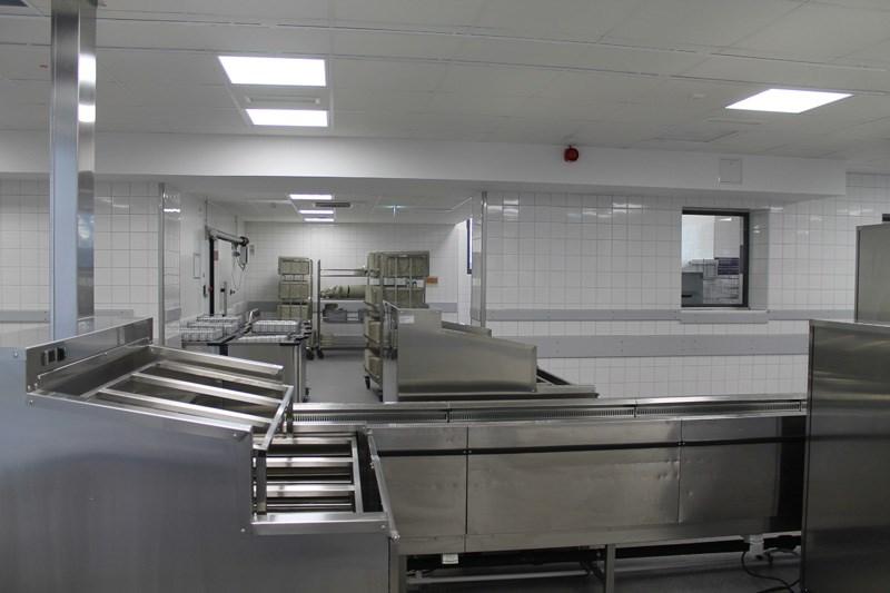 Fertigstellung der neuen Verteilerküche der LVR-Klinik Köln