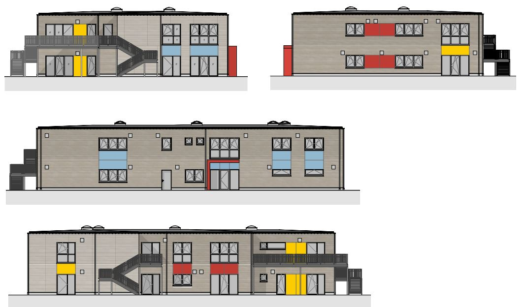 Neubau einer 4-gruppigen Kita Bookholzberg-Bargup, Gemeinde Ganderkesee
