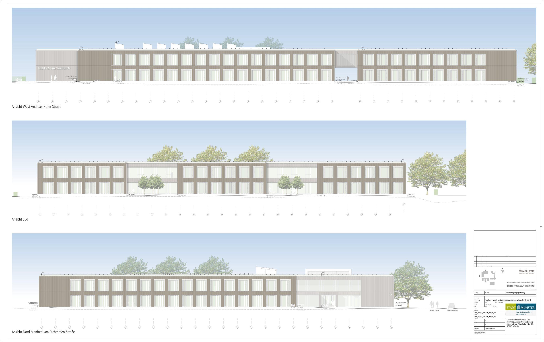 Mathilde-Anneke-Gesamtschule - Zweite städtische Gesamtschule in Münster