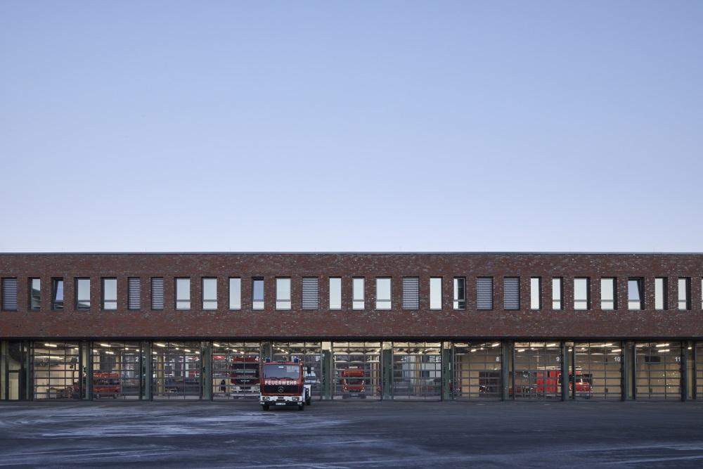 Neubau einer Rettungswache mit Kreisleitstelle in Gütersloh