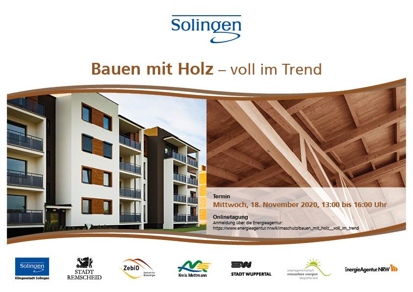 Bauen mit Holz - voll im Trend