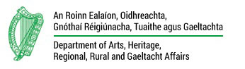Department of Arts, Heritage, Regional, Rural and Gaeltacht Affairs Logo