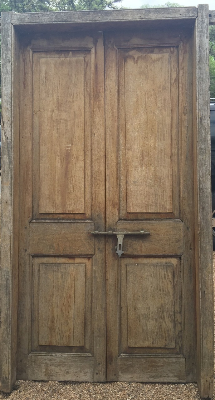Vintage Architecture Rentals Natural Wood Grand Entry Doors