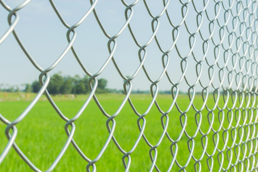 Galvanised Chainlink Fencing / Irish Wire Products