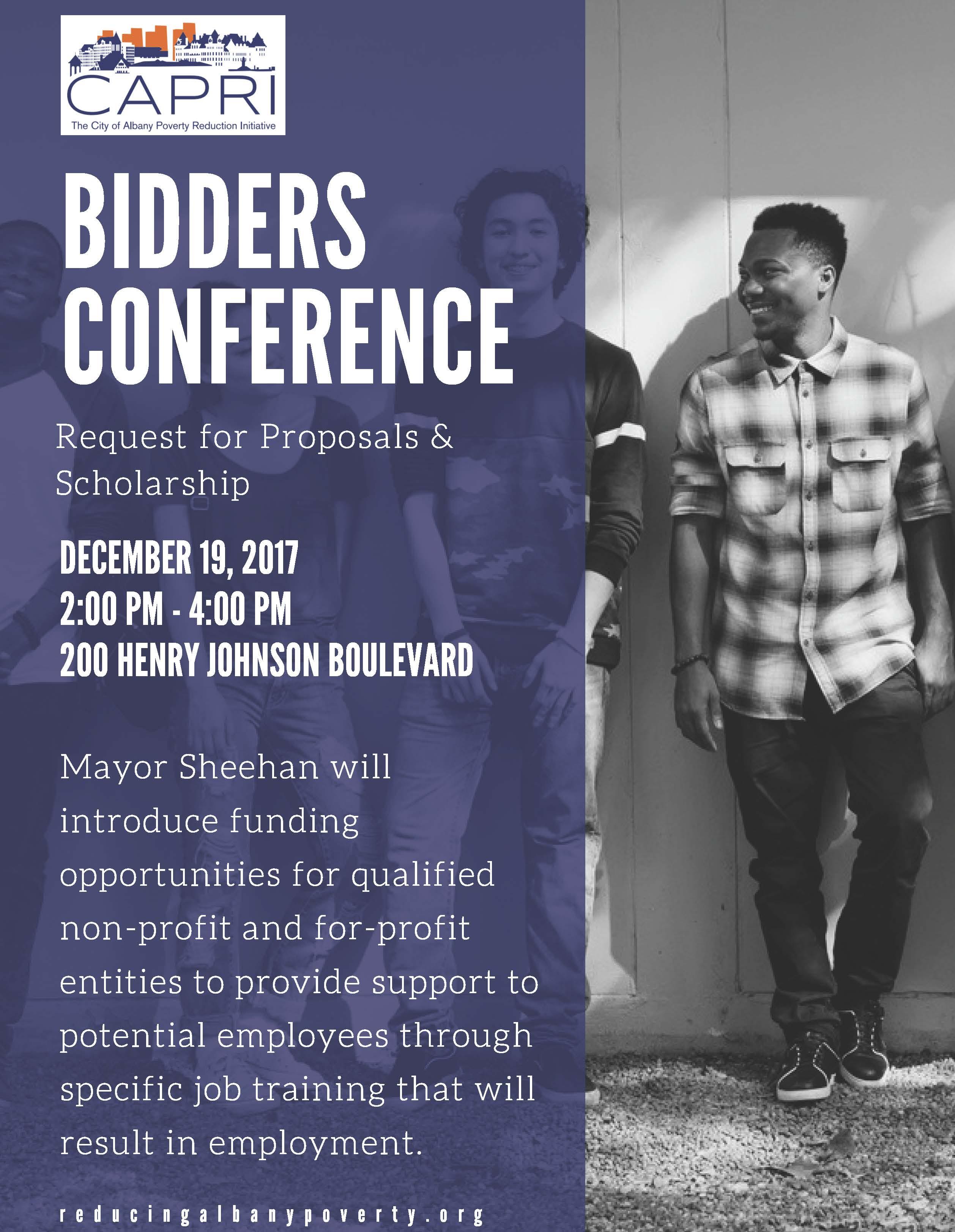 Bidder's Conference