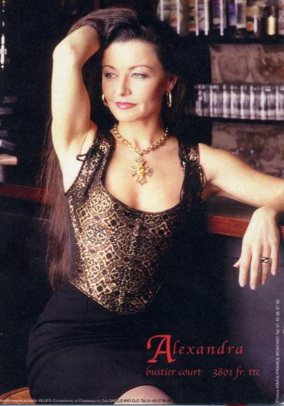 Mannequin pour Alcenais corset Haute Couture