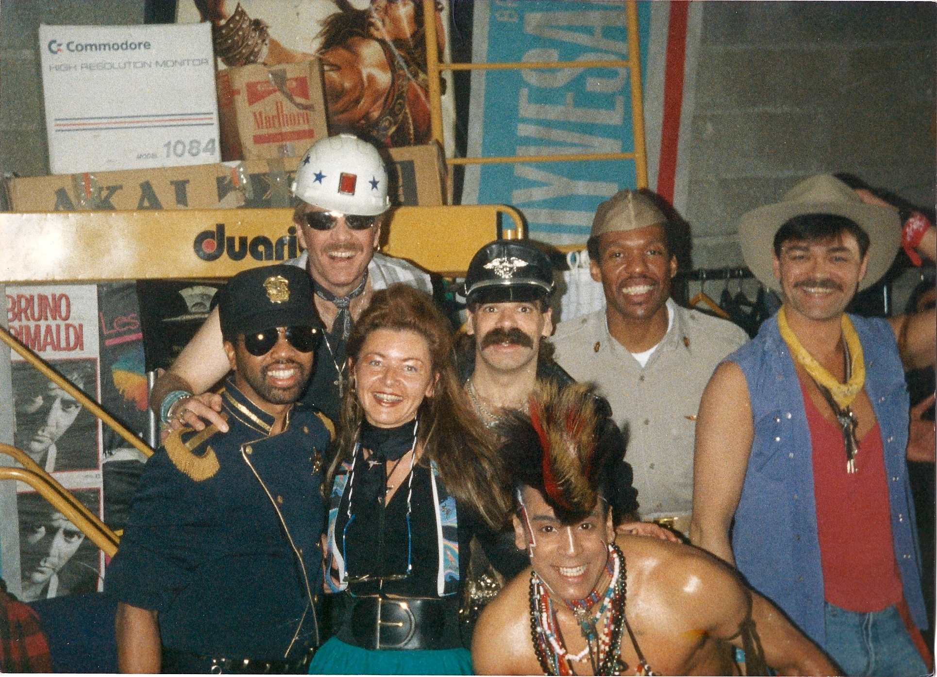 Village People et Gaëlle Villien