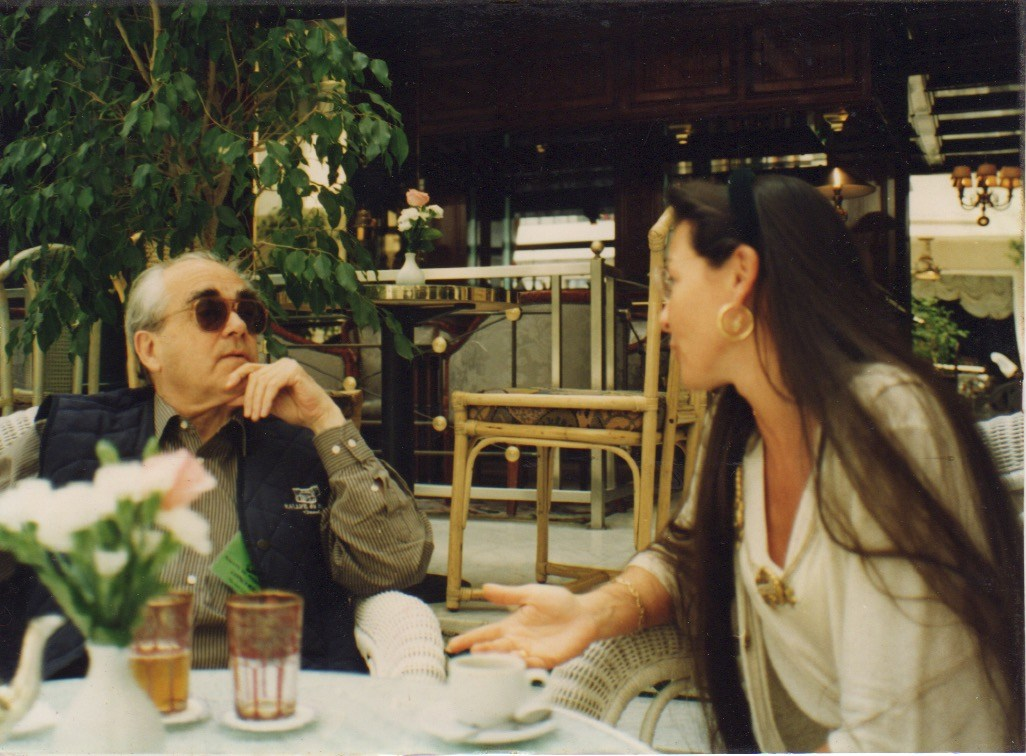 Royal Mansour à Casablanca avec Michel Legrand