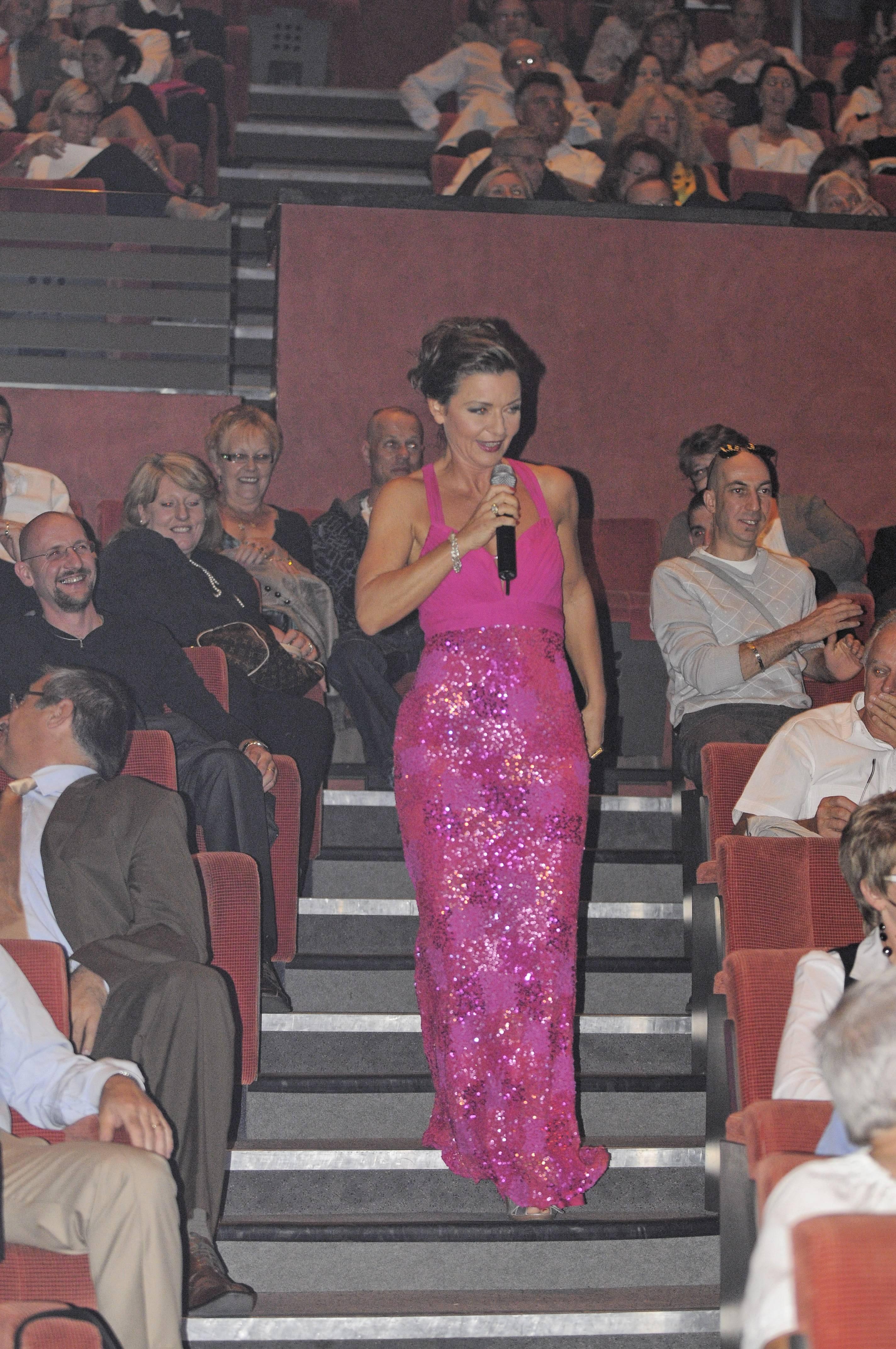Gaëlle s'approprie la salle de l'Opéra de Massy !