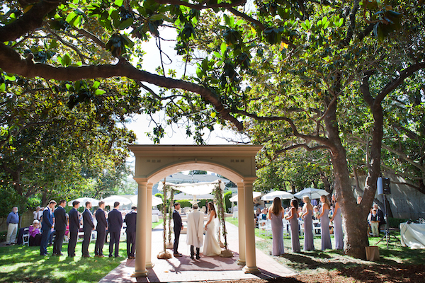 Wedding on Magnolia Terrace